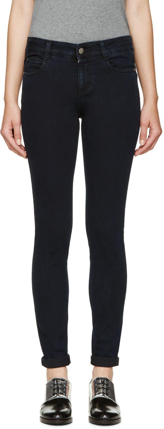 Stella Mccartney Indigo The Skinny Long Jeans