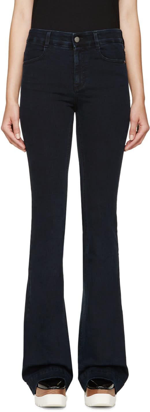 Stella Mccartney Indigo The 70s Flare Jeans