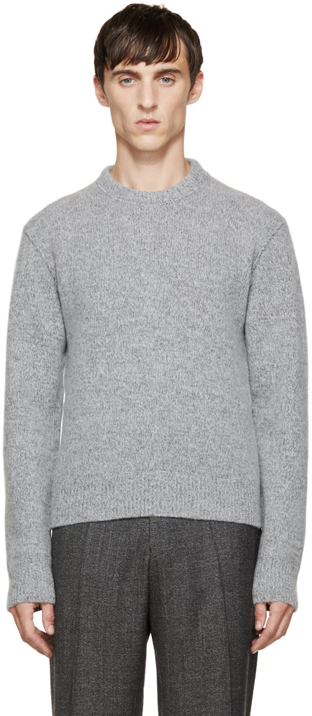 Calvin Klein Collection Grey Wool Sweater