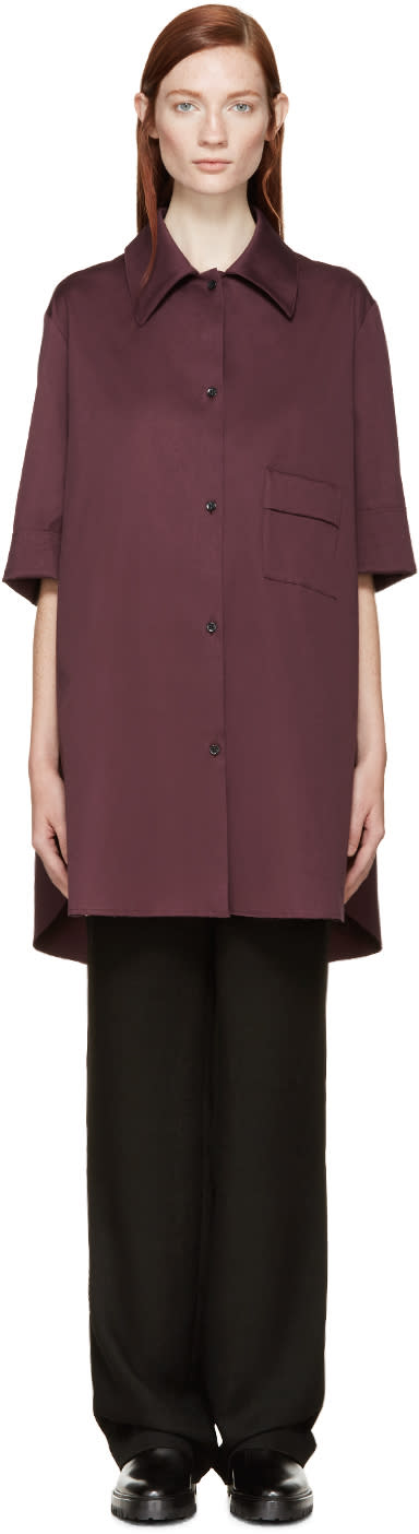 Yang Li Plum Oversized Shirt