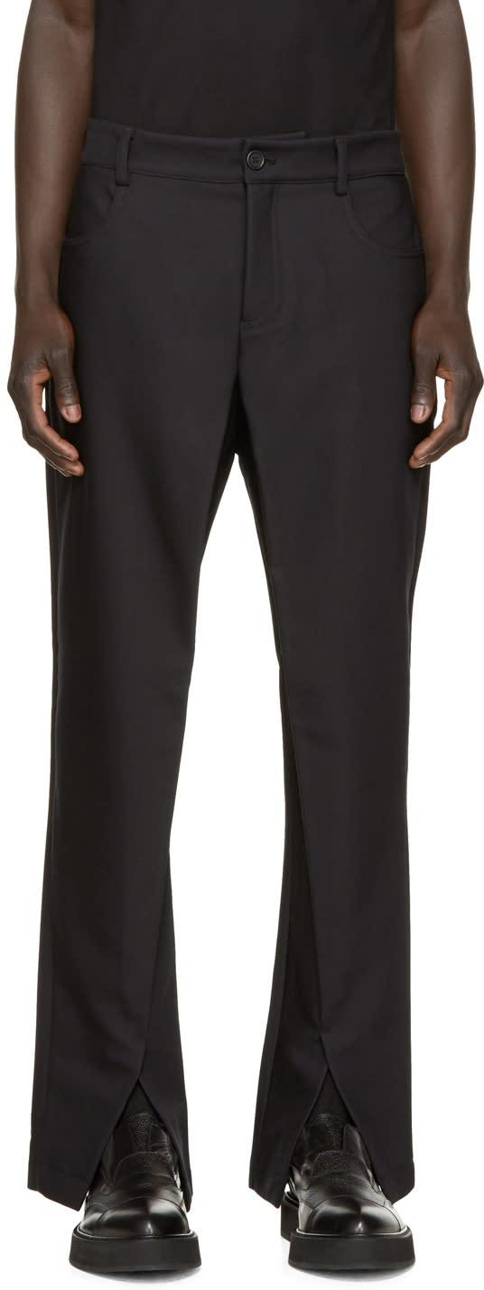 Hood By Air Black Sag Trousers