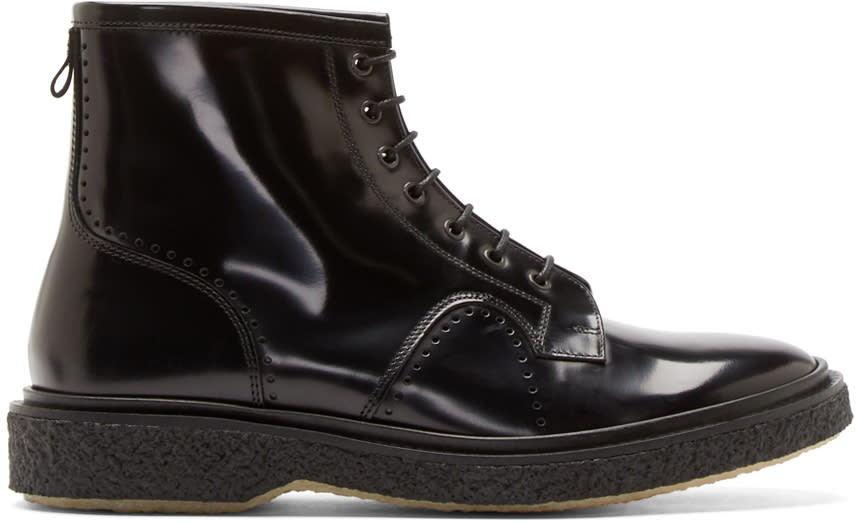 Adieu Black Type 22 Boots