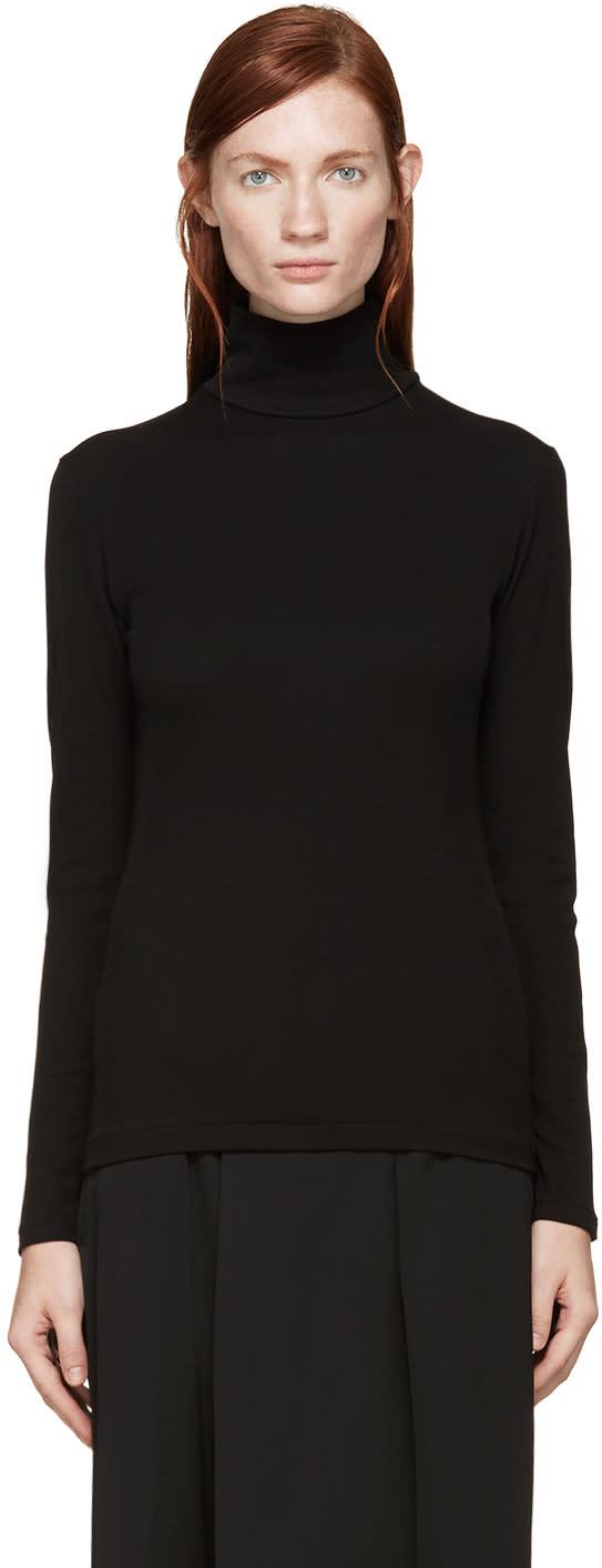 Yohji Yamamoto Black Turtleneck Shirt