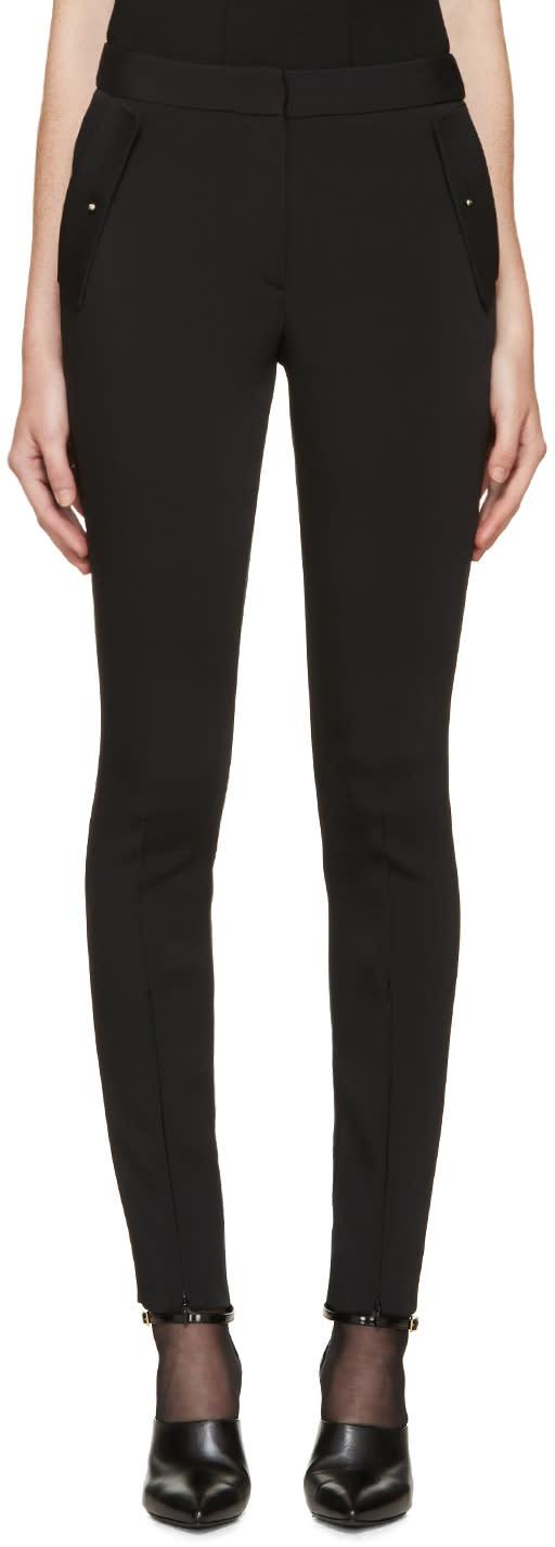Esteban Cortazar Black Cady Trousers
