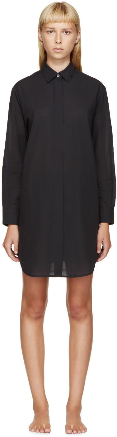 Raphaëlla Riboud Black Lace-inset Museletta Shirt