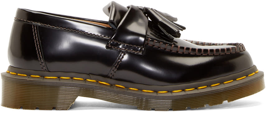Comme Des Garçons Comme Des Garçons Black Dr. Martens Edition Loafers