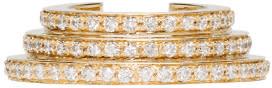Sophie Bille Brahe Gold Spirale Oreille Cuff