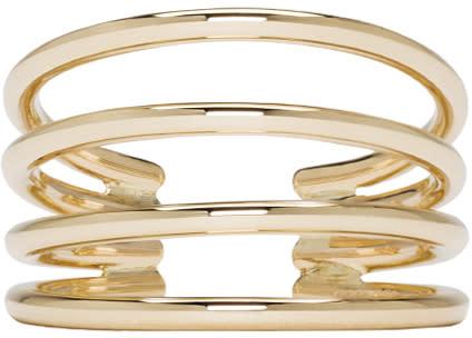 Sophie Bille Brahe Gold Ressort Oreille Ear Cuff