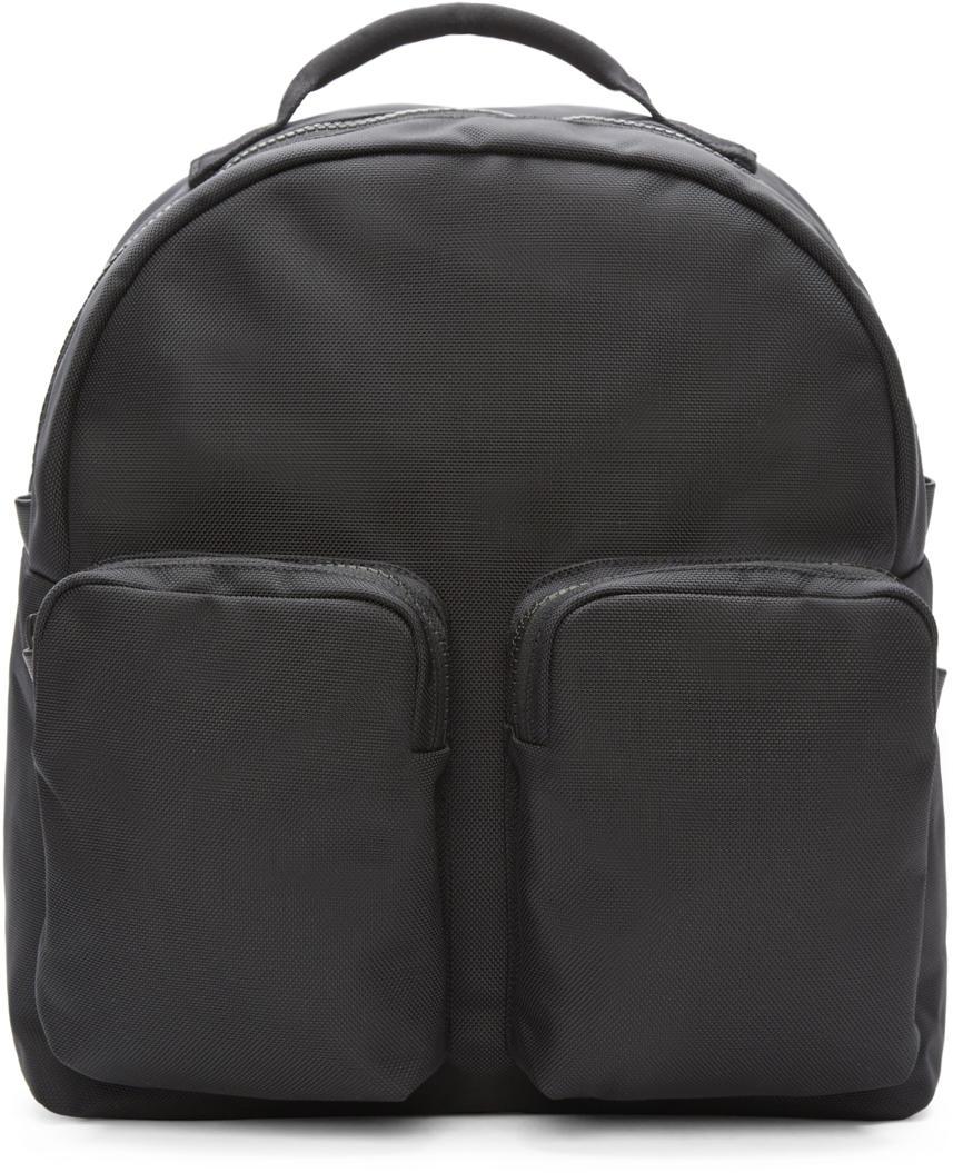 Yeezy Black Nylon Pocket Backpack