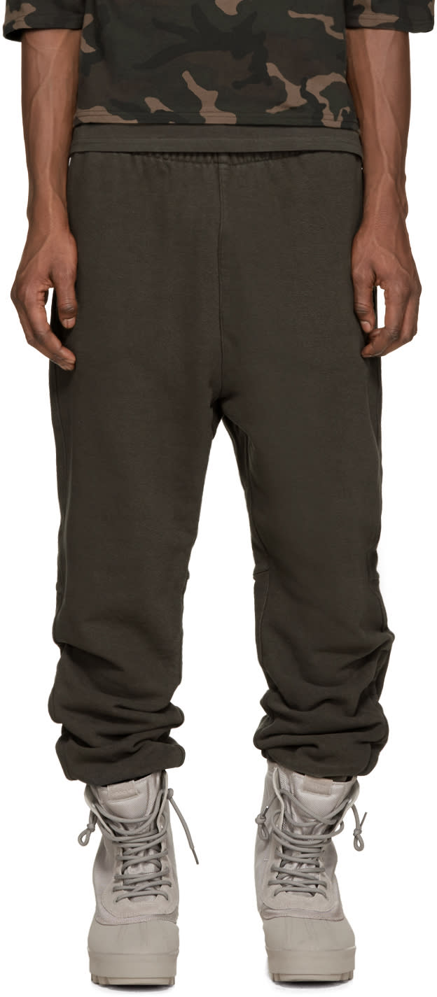 Yeezy Season 1 Grey Cuffed Lounge Pants