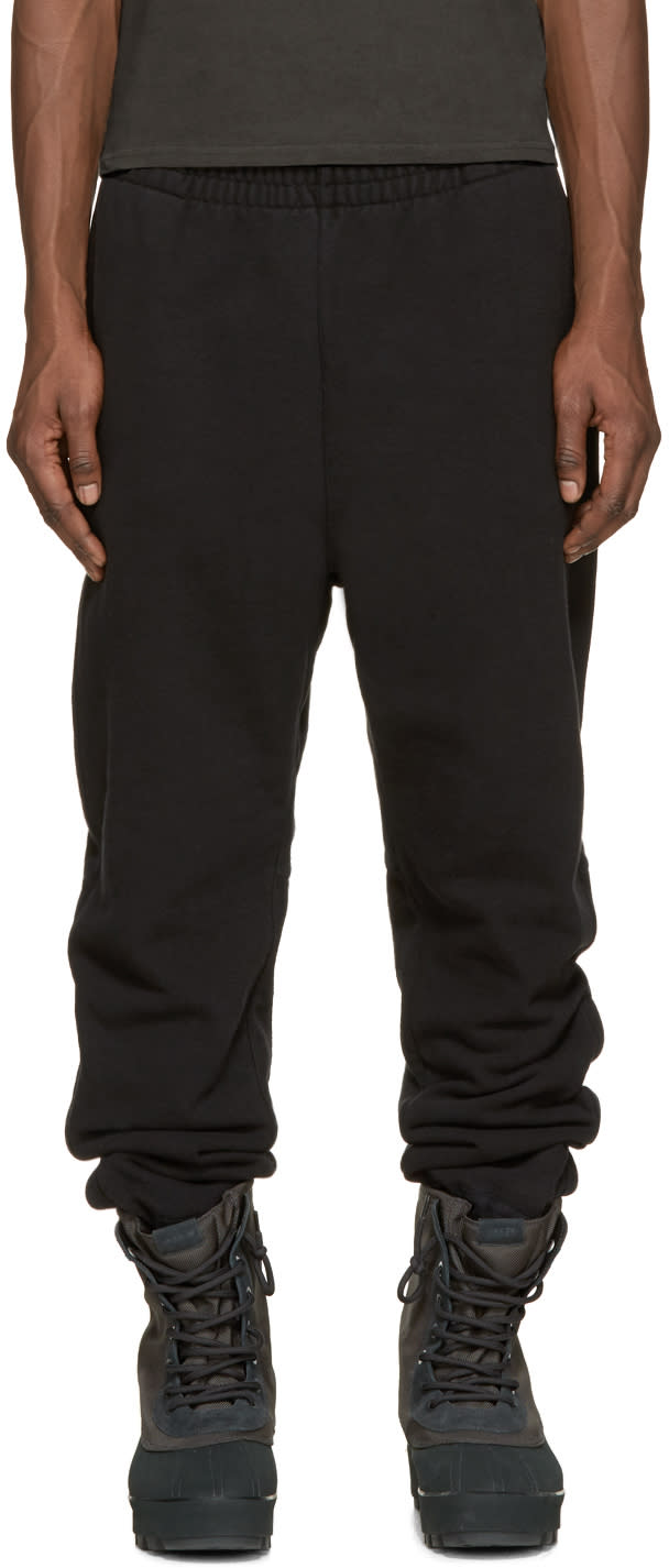 Yeezy Season 1 Black Cuffed Lounge Pants