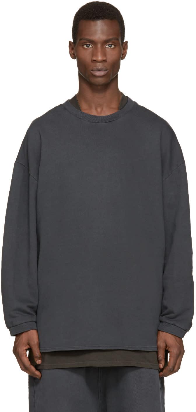 Yeezy Season 1 Grey Crewneck Pullover