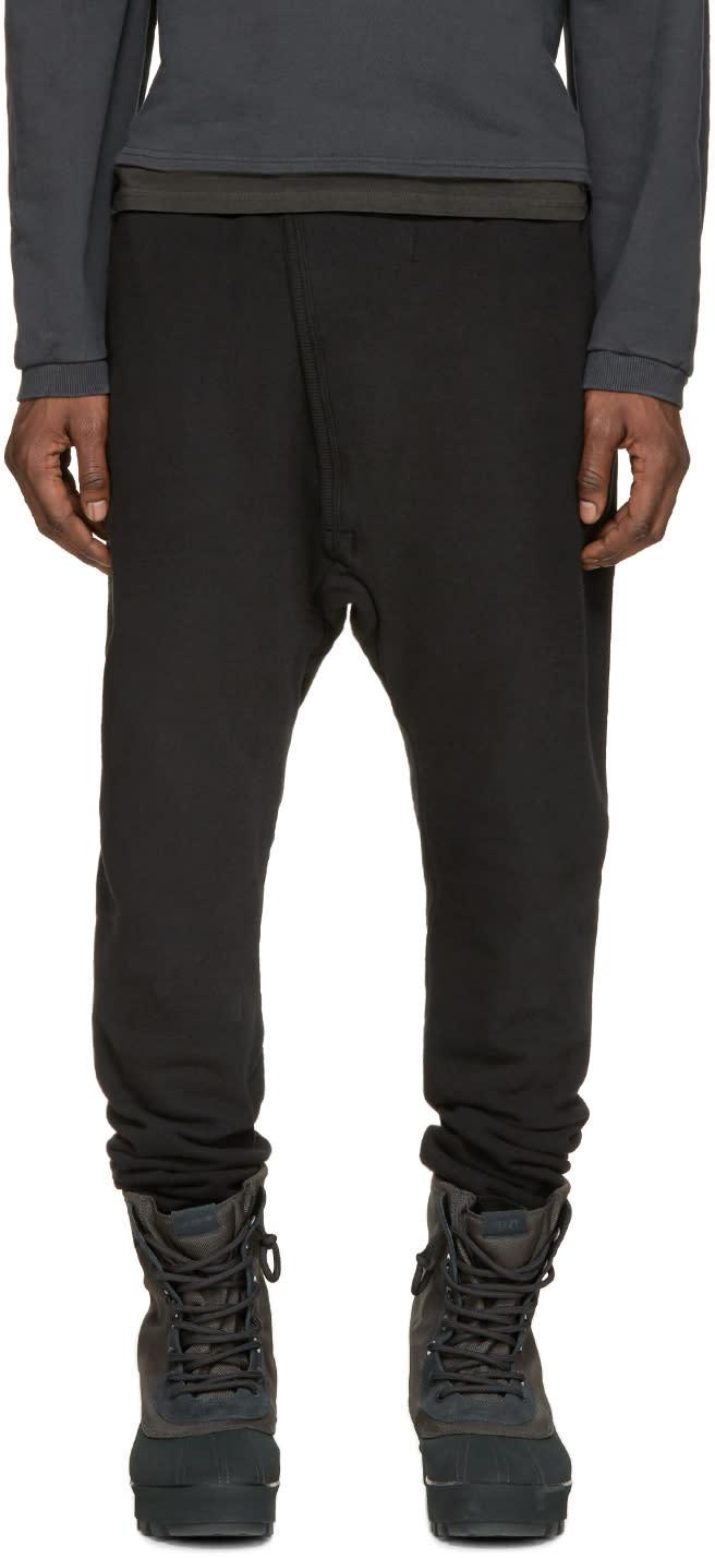 Yeezy Black Sarouel Lounge Pants
