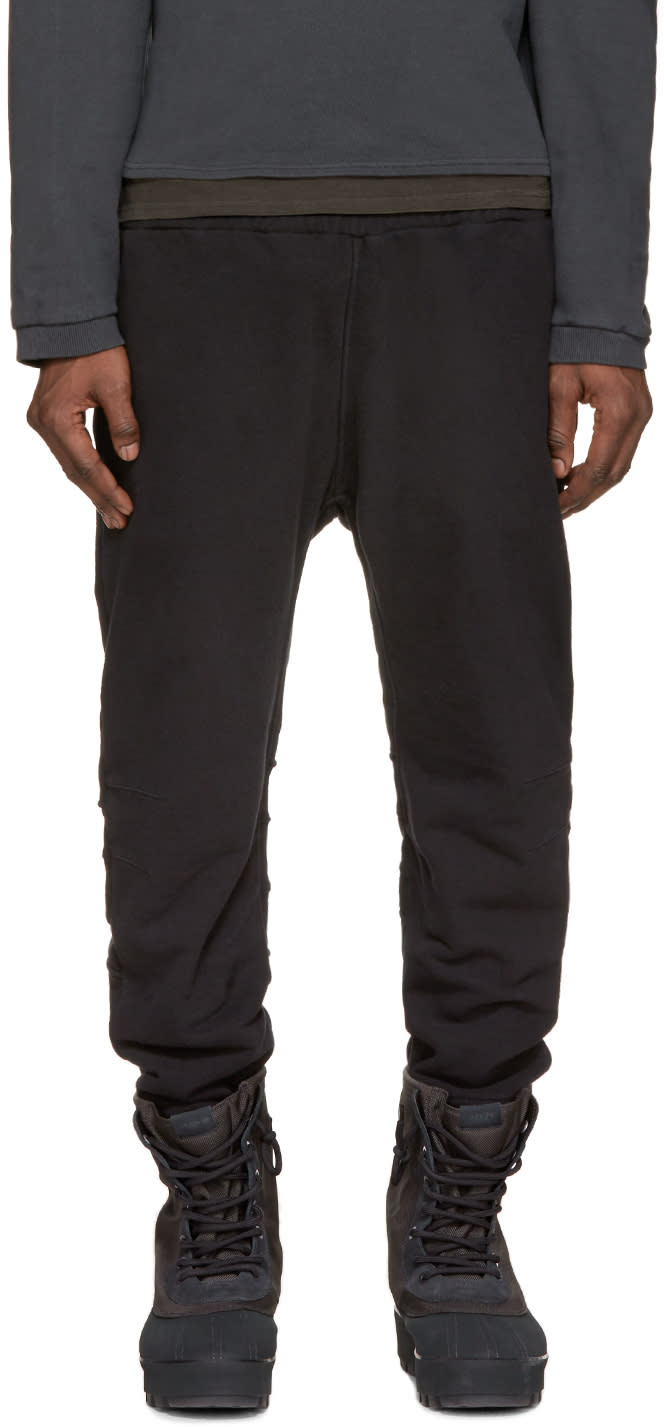 Yeezy Black French Terry Lounge Pants
