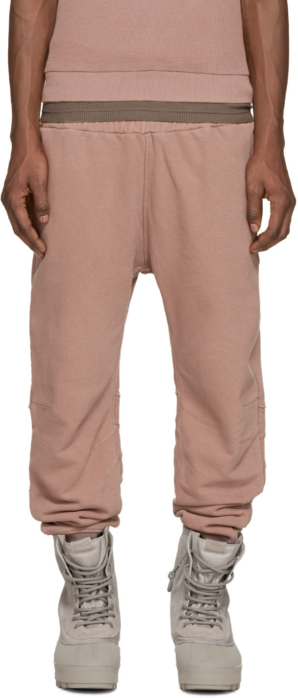 Yeezy Season 1 Rose French Terry Lounge Pants