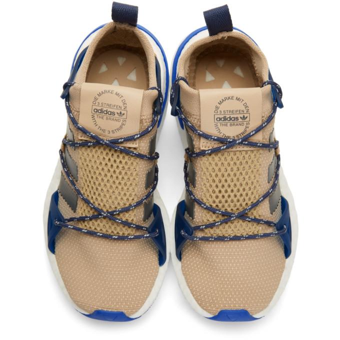 Beige & Grey ARKYN W Sneakers展示图