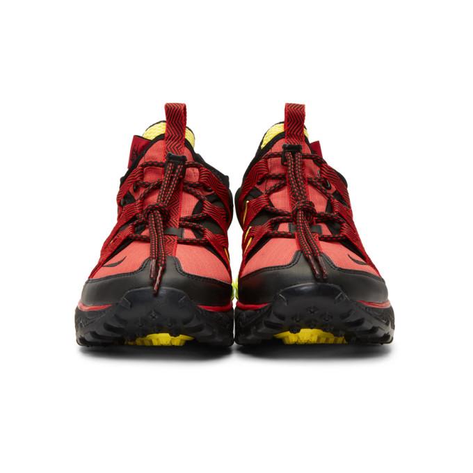 红色 & 黑色 Air Max 270 Bowfin 运动鞋展示图