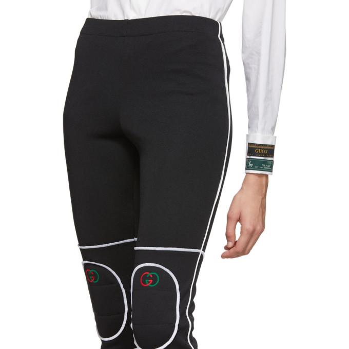 黑色徽标护膝展示图