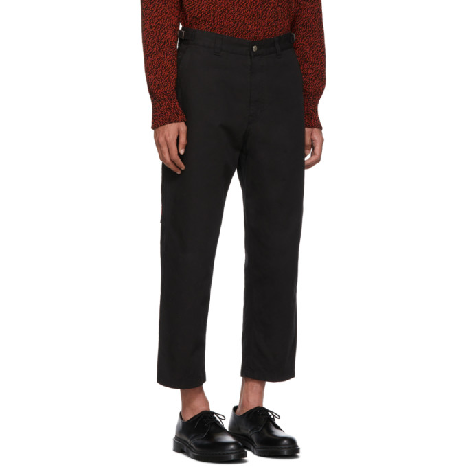 黑色工装长裤展示图