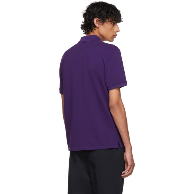 """紫色""""Ami De Coeur"""" Polo 衫展示图"""