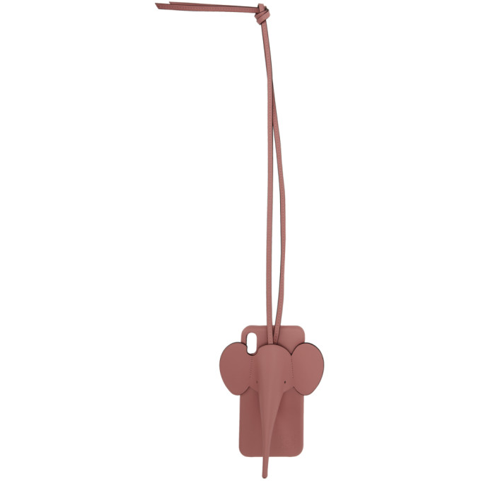 粉色 Elephant iPhone XS Max 手机壳展示图