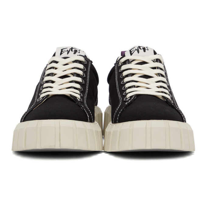 黑色 Odessa 帆布运动鞋展示图