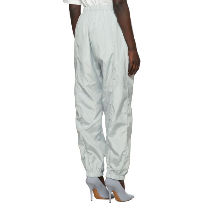 Grey Embroidered Nylon Lounge Pants A-Cold-Wall*