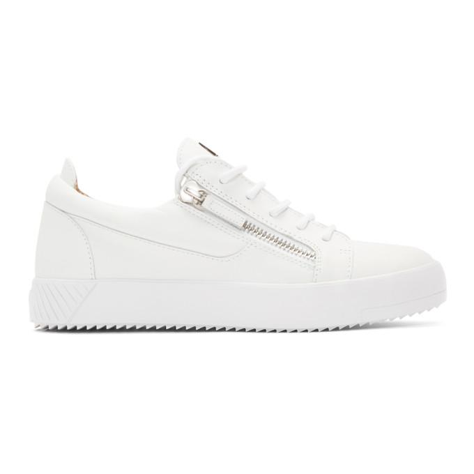 Giuseppe Zanotti White July SC Sneakers 191266M23704301