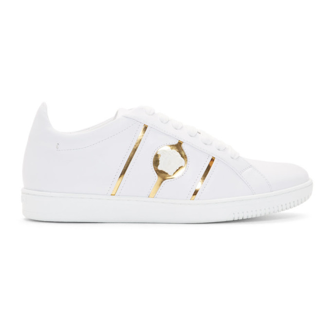 Versace White Medusa Sneakers - Prices, Information, Reviews