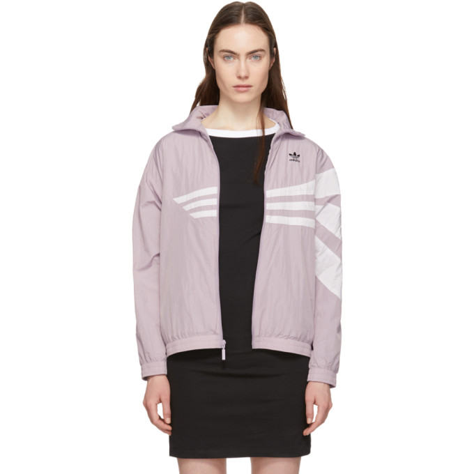 adidas Originals Purple Bossy 90s Track Jacket