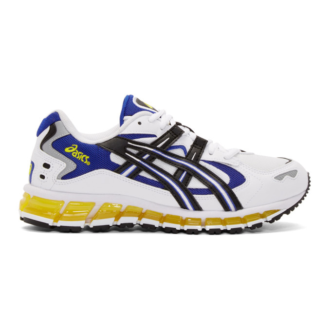 White Black Gel and Asics Kayano 5 360 Sneakers AL5j4R3