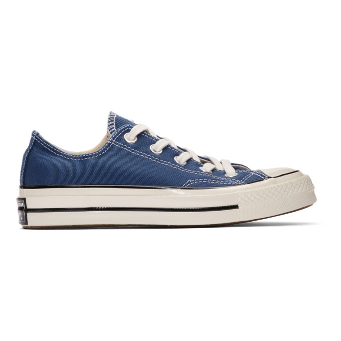 Converse Navy Chuck 70 Low Sneakers 192799F12803209