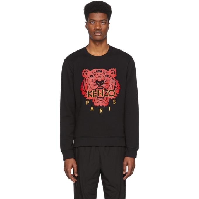 'chinese New Year Capsule' Tiger Sweatshirt In 99 Black