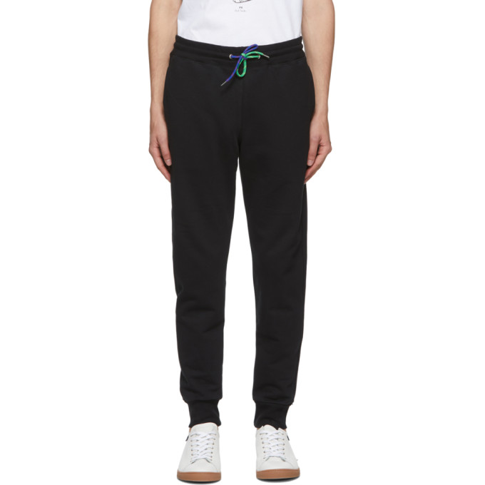 PS by Paul Smith Black Slim Jogger Lounge Pants 202422M19007603
