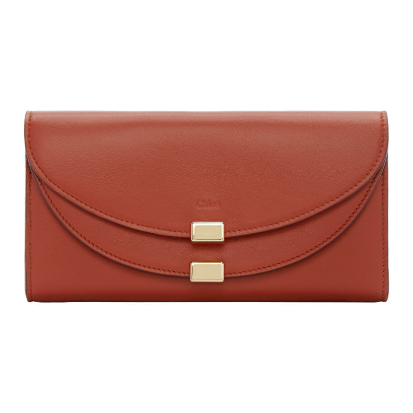 chloe replica handbag - chloe red long georgia wallet, replica chloe shoes