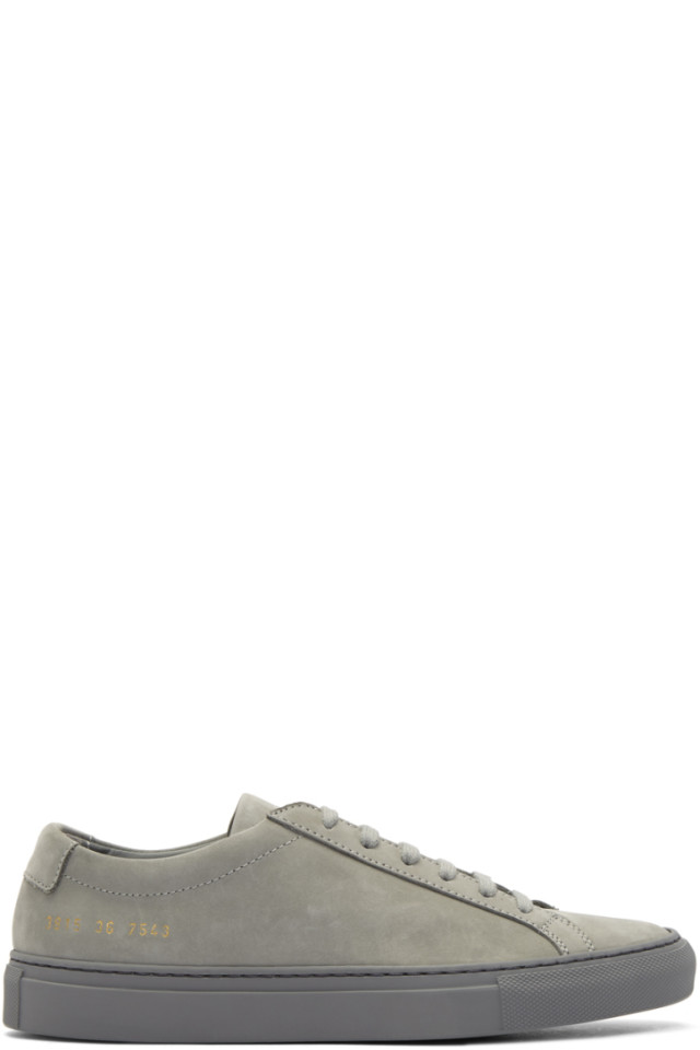 Woman by Common Projects Grey Nubuck