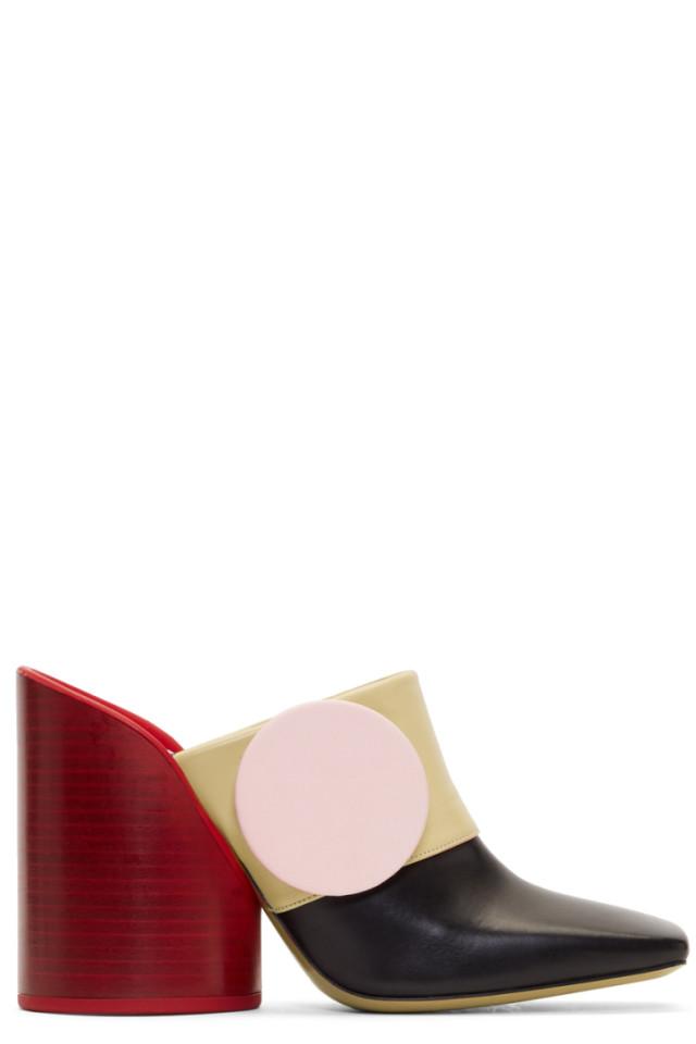 Jacquemus Multicolor 'Les Mules Boutons' Heels