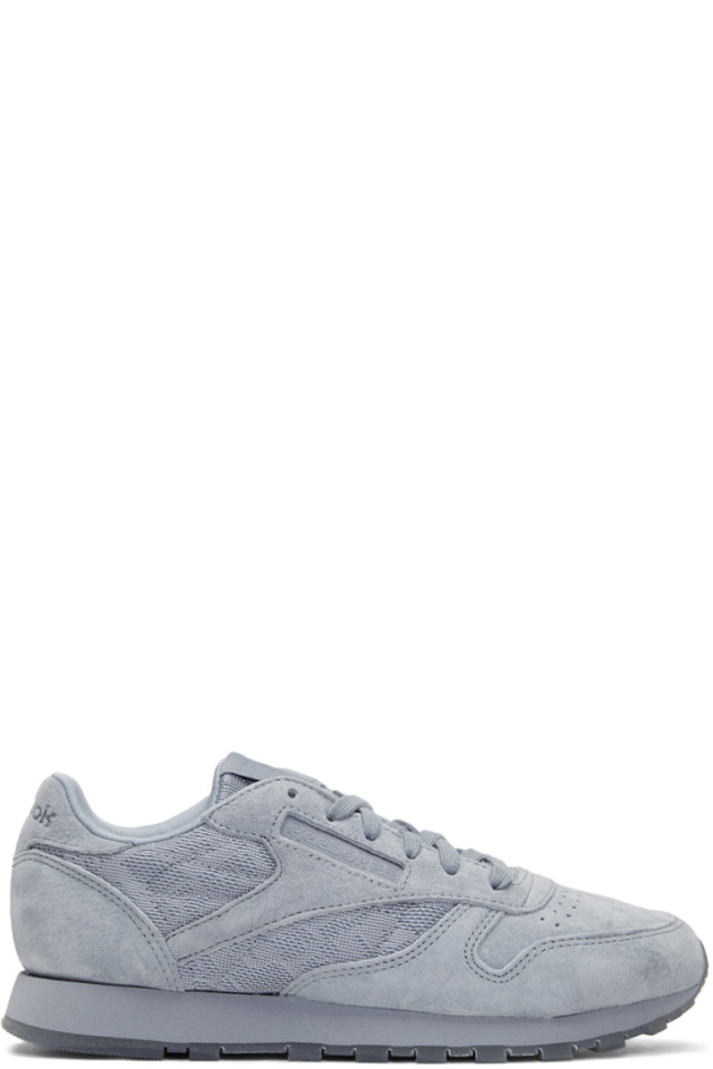 Reebok Classics Grey Suede Club C 85 Sneakers from SSENSE - Styhunt f416e4286