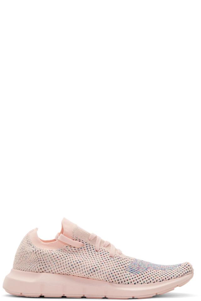 3e57631f0 adidas Originals Pink Swift Run PK Sneakers