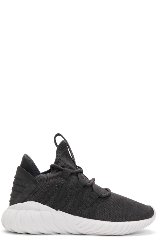 be8a335054df5e adidas Originals Black Tubular Dawn Sneakers from SSENSE - Styhunt