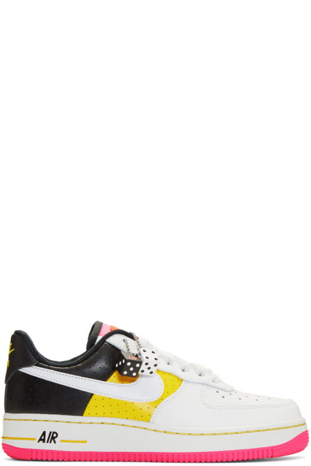 8c0936c2d16 Nike Multicolor Air Force 1 07 SE Moto Sneakers from SSENSE - Styhunt