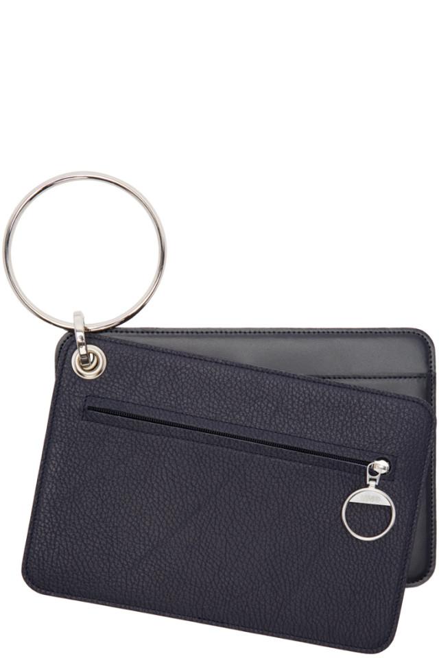 White Keyring Wallet Set Maison Martin Margiela