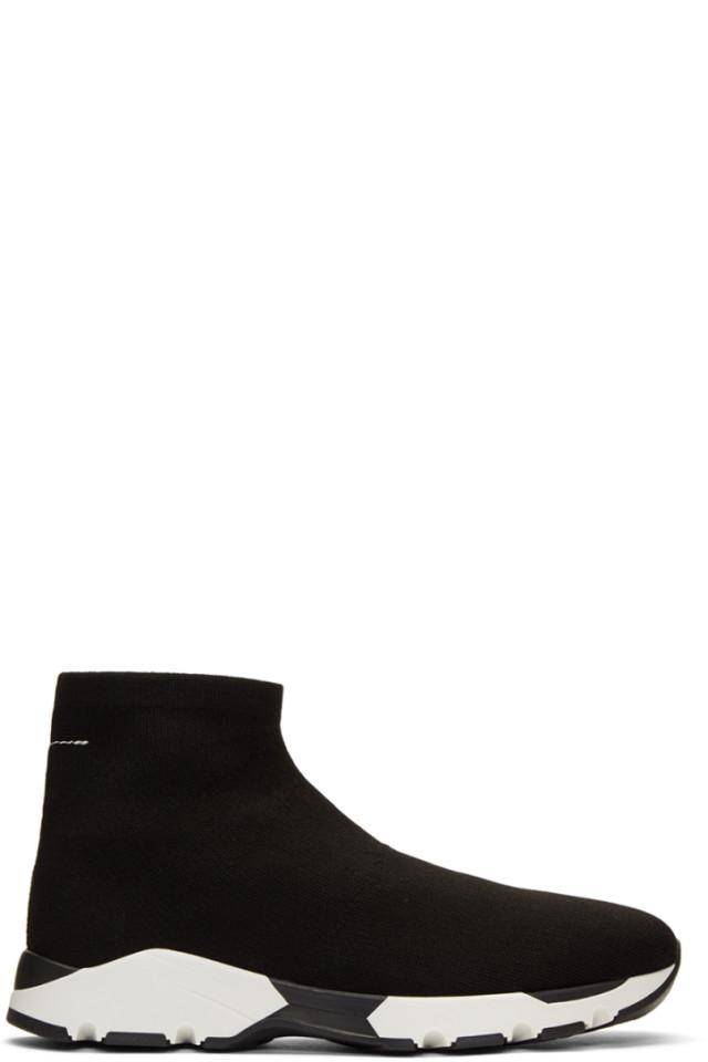 8ff81d18e MM6 Maison Martin Margiela Black Sock Sneakers
