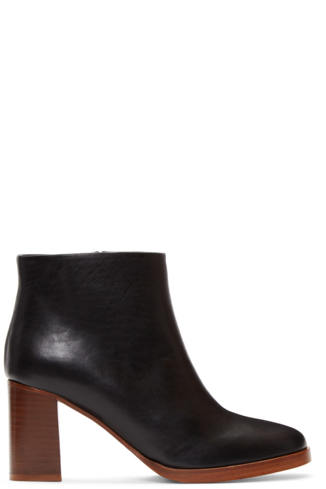 Black Vivianne Boots A.P.C.