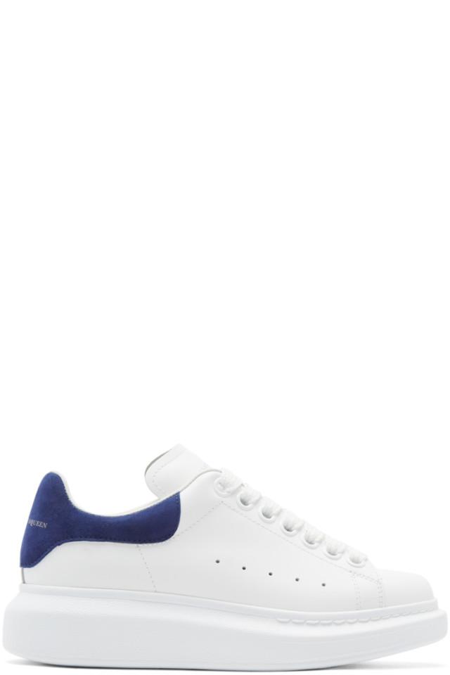 Alexander McQueen& Burgundy Oversized Sneakers