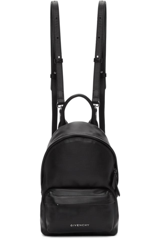 fa363eba993d Givenchy Black Leather Nano Backpack