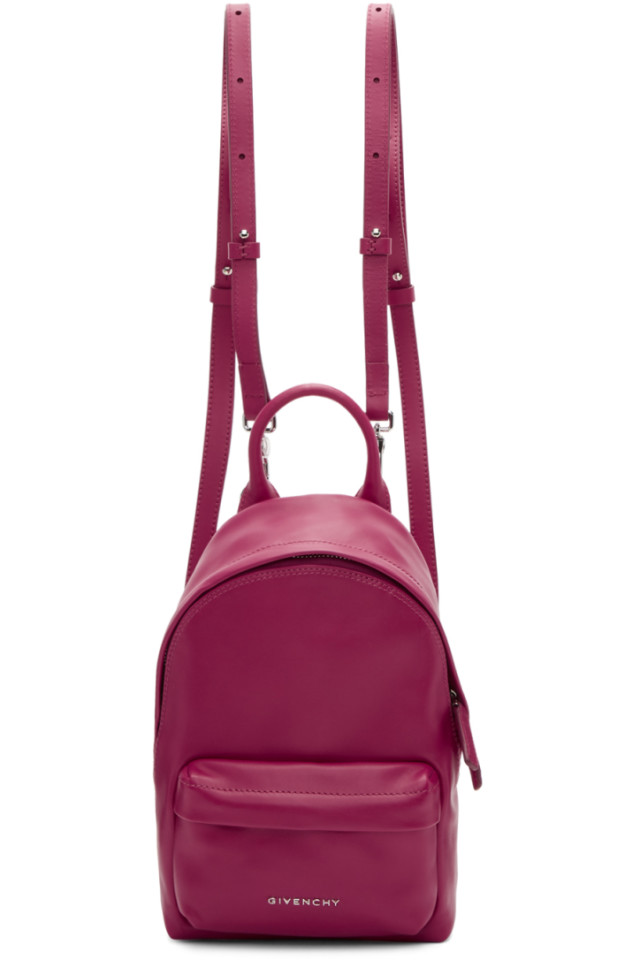 63c00331c8ca Givenchy Pink Leather Nano Backpack