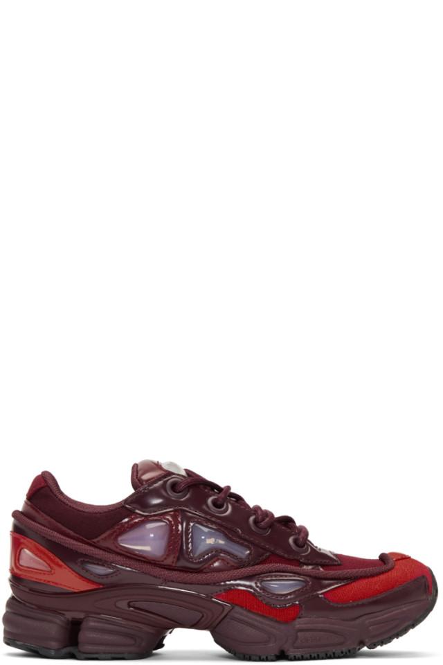 exquisite design timeless design various styles Raf Simons Red & Burgundy adidas Originals Edition Ozweego ...