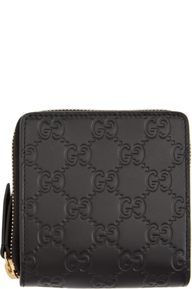 cbfbd7bb4999 Gucci Linea A GG Supreme Canvas Zip-Around Wallet from Neiman Marcus ...