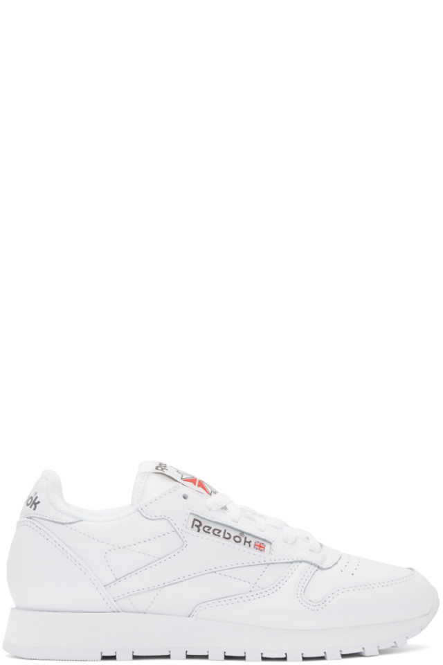 Reebok Classics White Princess Sneakers from SSENSE - Styhunt ef25aea74